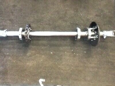 Kart Intrepid 50mm Axle Assembly Rotax Tkm X30 F100