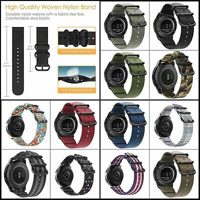 Bands for Galaxy Watch 46mm / Gear S3, Fintie Soft Woven Nylon 22mm Band Strap