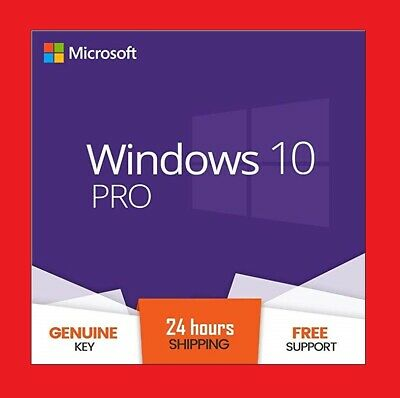 Windows 10 Professional Pro 32-/64-Bit Key License / Lizenz / Code / Aktivierung