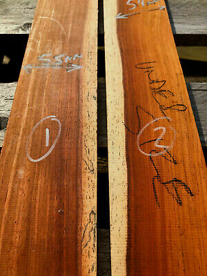 Cocobolo rosewood acoustic / electric guitar fingerboard / fretboard REJECTS