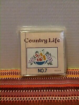 BROTHER EMBROIDERY MEMORY CARD #7 ~ PES  ~ 38 DESIGNS   Country Life