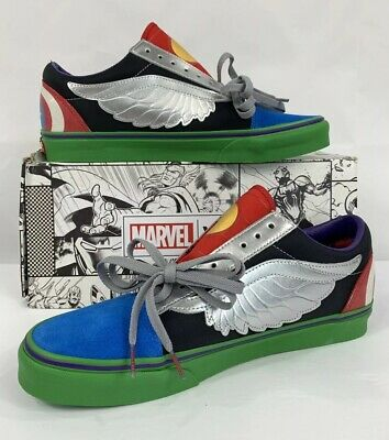 vans old skool marvel avengers multi