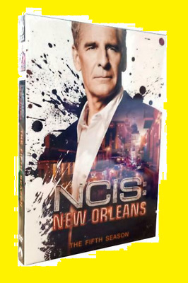 NCIS: New Orleans: The Fifth Season 5 (DVD, 2019, 6-Disc Set) Free shipping