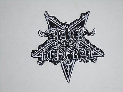Dark Funeral Black Metal Iron On Embroidered Patch
