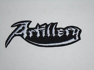 Artillery Thrash Metal Iron On Embroidered Patch