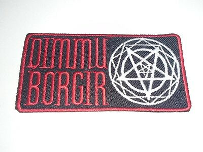 Dimmu Borgir Iron On Embroidered Patch