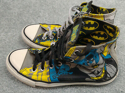 2 or 3  $38 BATMAN DC COMICS Skater-Style Sneakers Shoes Boys//Youth Size 13 1