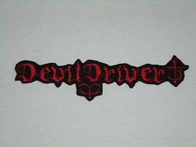 Devil Driver Iron On Embroidered Patch