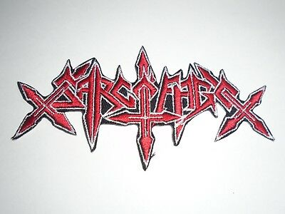 Sarcofago Iron On Embroidered Patch