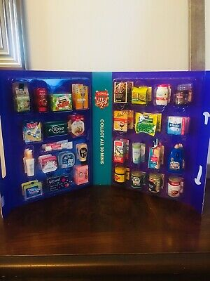 Coles Little Shop 2 Mini Collectables With Case Free Postage