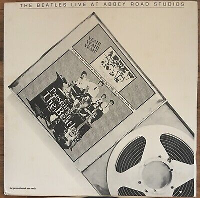 The Beatles Live At Abbey Road Studios Mega Rare Bootleg Gatefold Double Lp Vg+