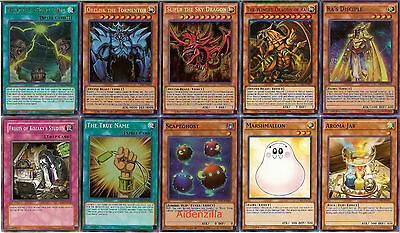 Yugioh Egyptian God Deck - Slifer, Obelisk, Ra, Ra's Disciple, True Name