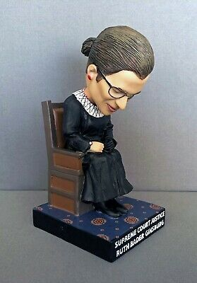 Ruth Bader Ginsburg Sleeping at State of Union Bobblehead RBG Supreme Court