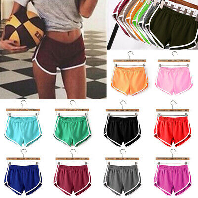 Women Gym Shorts Casual Jogging Running Fitness Ladies Yoga Pants Activewear