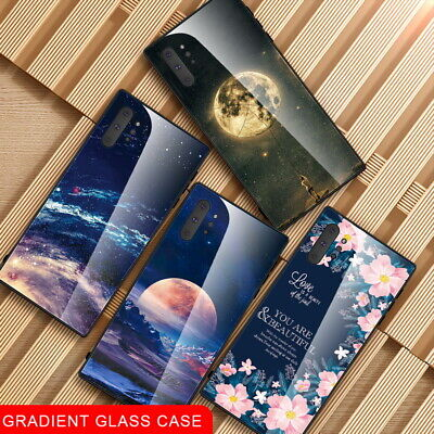 Tempered Glass Bumper Case Cover For Samsung Galaxy Note 10 Plus A20 A70 A50 M20