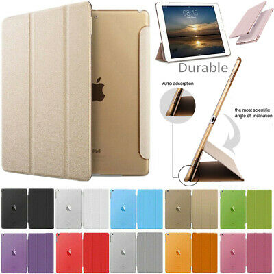 """Leather Smart Case For New iPad 6 Gen 9.7"""" 2018 5 Gen 2017 Magnetic Stand Cover"""
