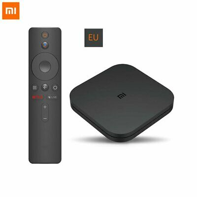 Mi Box S Xiaomi 4K Ultra HD Direct Remote Streaming Media Player Set Top Box