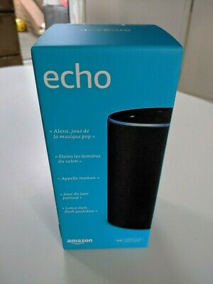 BRAND NEW -  Amazon Echo (2nd generation) - Charcoal Fabric - BOXED SEALED