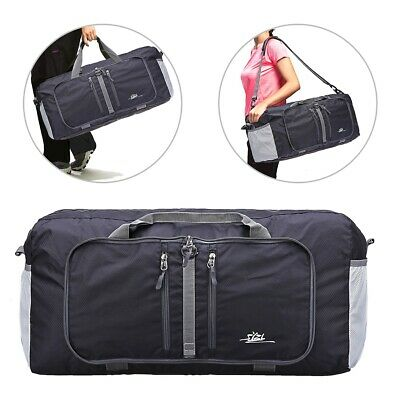 Foldable Duffle Tote Bag 40L for Travel Gym Sports Packable Lightweight Luggage