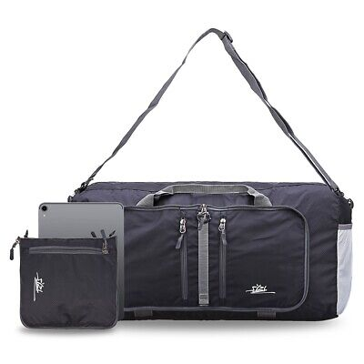 Duffle Travel Water Resistant Shoulder Strap Foldable Holdall Bag Hand Luggage