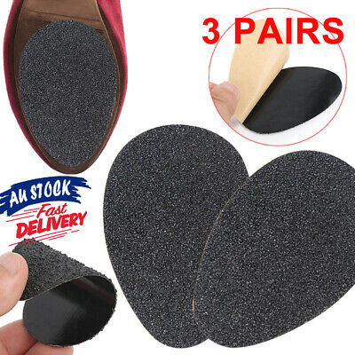 3 Pair Care Sole Self Adhesive High Heels Non Slip Shoe Pads Soles Slippery Grip