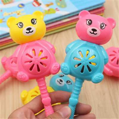 Baby Rattles Toy Intelligence Hand Bear Bell Rattle Funny Educational Toys HV