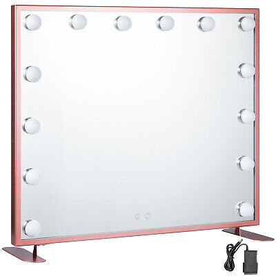 Specchio Trucco Illuminato 600*500CM Smart Touch Make up Da Tavolo Wall Mount