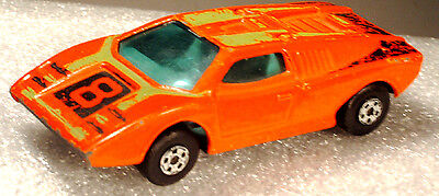 Rarität MATCHBOX SUPERFAST LOMBORGHINI COUNTACH No. 27 1973 Made in England