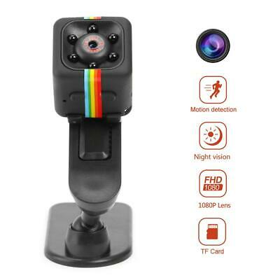 SQ11 Mini Kamera 1080P Full HD Camcorder Nachtsicht Mini DV DVR Cam DE