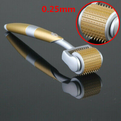 ZGTS Luxury Titanium Micro Needle Therapy Derma Roller For Acne Scar Anti-Aging