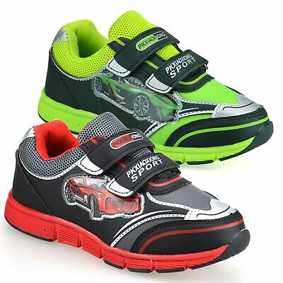 Boys Kids Childrens Infants Casual Touch Strap Summer Sport Trainers Shoes Size