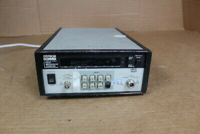 Systron Donner 6520 Microwave Counter 08348603 Sr No 51001-7