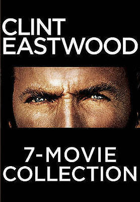 Clint Eastwood: The Universal Pictures 7-Movie Collection (DVD, 2015, 7-Disc...