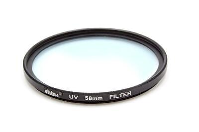 Protective UV Filter 58mm for Canon EF 75-300 mm 4.0-5.6 IS USM
