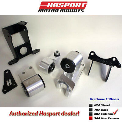 Hasport Mounts 2006-2011 for Civic Si Stock Replacement Mount Kit FDSTK-88A