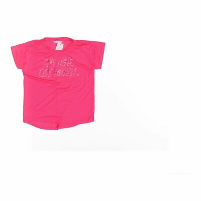 Rockets of Awesome Girls T-shirt size 6,  pink,  spandex, polyester