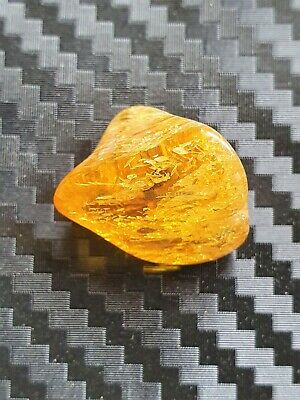 1.83 - Genuine Natural  Antique Old Baltic Amber Stone Bernstein polishing