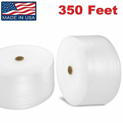 "Bubble Cushioning Wrap 3/16"" Small Padding 350' Roll x 12"" Wide 350FT"