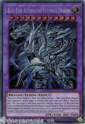 TN19-EN001 Blue-Eyes Alternative Ultimate Dragon Prismatic Secret Rare Limited E