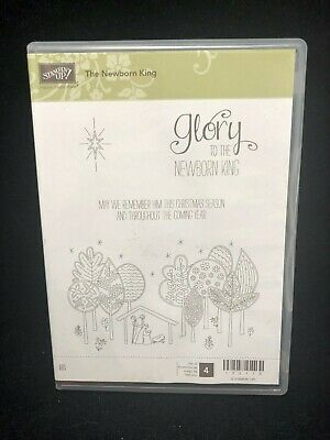 Stampin' Up! Clear Mount Stamp Set - The Newborn King