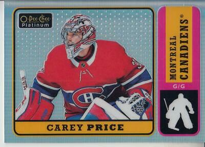 2018-19 O-Pee-Chee Platinum Retro Rainbow #R10 Carey Price Canadiens