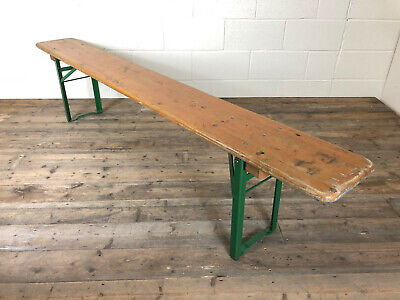 Vintage Industrial Style Folding Bench - Delivery Available