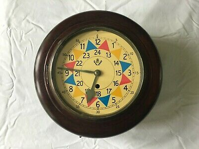 RAF Sector Clock 8 day Fusee movement vintage Excellent condition Working order