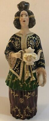 RARE Antique Early 19C Imperial Russian Porcelain Figurine/Bottle (A. Popov)