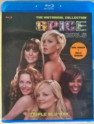 Spice Girls The Collection 3x Triple Bluray (Solo + Group)