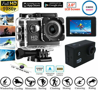 New Sports Camera Action SJ4000 1080P Video Camcorder With Waterproof Case K6F4G
