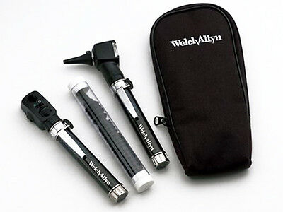 Welch Allyn Pocket Jr. Otoscope/Opthalomscope Diagnostic Set - New Item # 95001