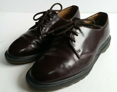 Dr Martens Brown Leather Lace Up Made in England Shoes UK 4, EU 37