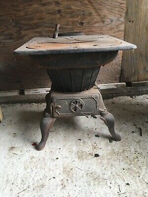 Antique Cast Iron Stove King Stove Amp Range Co Sheffield