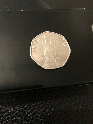 Rare 50P Coin Beatrix Potter Rare Peter  Rabbit   2016